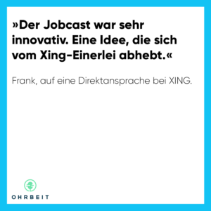 Jobcast erfolgreich nutzen im active sourcing